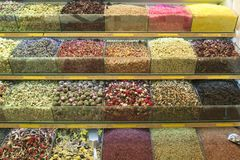 Turecka herbata na rynku Fotografia Royalty Free