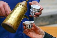 Turecka kawa W Turcja Zdjęcie Royalty Free