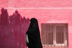 Turecka kobieta w tradycyjnej Islamskiej odzieży Zdjęcie Stock