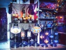 Turecka lampa Obraz Royalty Free