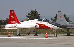 Turecka siły powietrzne T-38M Zdjęcia Stock