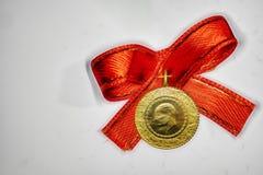 Turecka tradycja kwartalny złoto dla ślubów i narodziny royalty ilustracja
