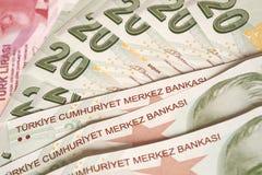 Turecka waluta Obrazy Stock
