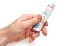 Turecka waluta Fotografia Stock