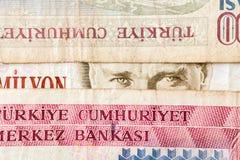 Turecka waluta Zdjęcia Stock
