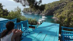 Turecka wyspa Fotografia Royalty Free