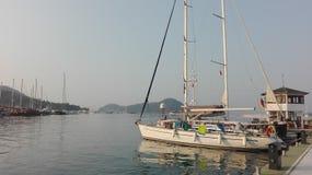 Turecka wyspa Zdjęcia Stock