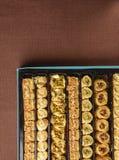 Turecki baklava cukierki Zdjęcie Royalty Free