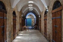 Turecki bazar w akrze, Izrael zdjęcia stock