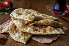 Turecki Cig Borek, Tatar kulebiak z minced herbatą i mięsem/ Obrazy Stock