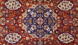Turecki Dywanowy tło Zdjęcia Royalty Free