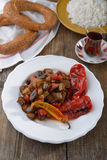 Turecki gość restauracji Zdjęcia Royalty Free
