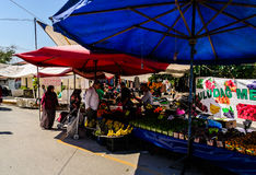 Turecki Gromadzki bazar Zdjęcia Stock