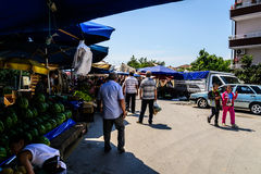 Turecki Gromadzki bazar Obraz Stock