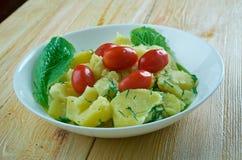 Turecki Kartoflanej sałatki †'Patates Salatası obrazy royalty free