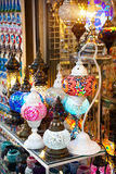 Turecki kolorowy lampion Obraz Stock