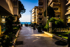 Turecki miasteczko W lecie Zdjęcie Royalty Free
