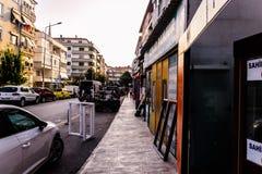 Turecki miasteczko W lecie Zdjęcie Stock