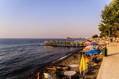 Turecki miasteczko W lecie Fotografia Royalty Free