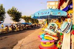 Turecki miasteczko W lecie Obraz Royalty Free