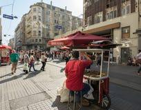 Turecki sprzedawcy sprzedawca zdjęcie stock