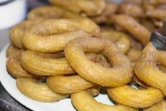 Turecki tradycyjny deser nazwany Tulumba Obraz Stock