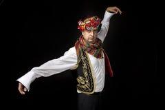 Turecki Tradycyjny tancerz Obraz Royalty Free
