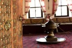 Turecki tradycyjny wewnętrzny projekt Sarajevo, Bośnia ja Herzegov Obrazy Royalty Free