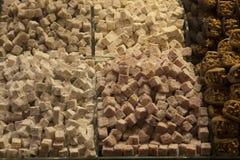 Turecki zachwyt i cukierki Zdjęcia Stock