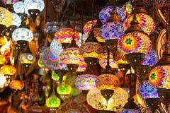 tureckie świateł Fotografia Royalty Free