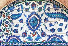 Tureckie ceramiczne płytki, Istanbuł zdjęcia stock