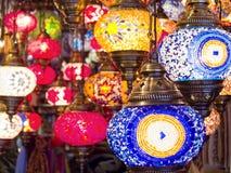 Tureckie lampy Fotografia Royalty Free