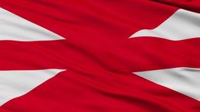Tureckiego siły lądowe rozkazu flaga zbliżenia Bezszwowa pętla royalty ilustracja