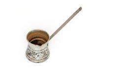 Tureckiej kawy garnek Obraz Royalty Free