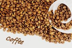 Tureckiej kawy kolaż Obrazy Royalty Free