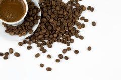 Tureckiej kawy kolaż Zdjęcia Stock