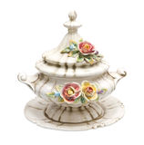 Tureen of soup Stock Image