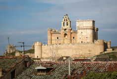 Turegano castle, Castilla y Leon, Spain Stock Images
