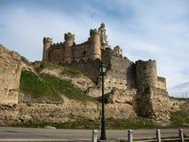 Turegano castle, Castilla y Leon, Spain Stock Photos