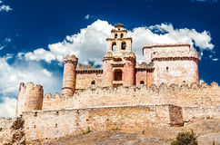 Turegano castle (Segovia), Spain Stock Photo
