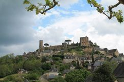 Turenne ( France ) Stock Photo