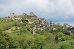 Turenne ( France ) Royalty Free Stock Image