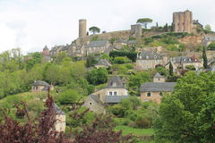Turenne ( France ) Stock Images