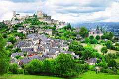 Turenne village Stock Photos