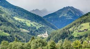 Tureskasteel, Zand in Taufers, Sudtirol, Italië stock foto's