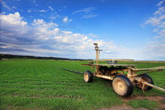 Turf farming, Australia Stock Images