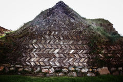 Turf house in Iceland Royalty Free Stock Photos