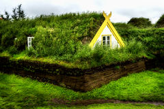 Turf House Royalty Free Stock Images