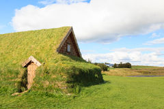 Turf House Royalty Free Stock Photography