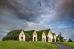 Turf houses Royalty Free Stock Images